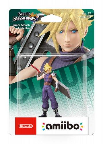 Cloud No.57 Amiibo (Nintendo Wii U) - amazon.co.uk £10.99 back in stock