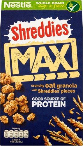 Shreddies Max Crunchy Oat Granola / Shreddies Max Crunch Cranberry & Oat Granola (400g) was £2.56 now £1.43 @ Morrisons