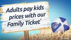 Adults pay kids prices when you buy a family ticket @ Odeon