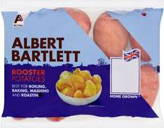 Albert Bartlett British Rooster Potatoes (2Kg) was £2.60 now £1.30 @ Waitrose & Sainsbury's