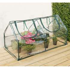 PVC Cloche Greenhouse instore at B&M for £1.99