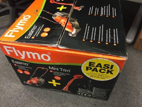 Flymo Easimo + Mini Strimmer £28.50! instore @ ASDA