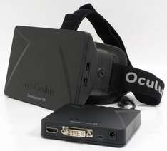 Oculus Rift DK1 Virtual Reality Headset £39.99 or £35.00 make a offer  pc2u4u / Ebay (free delivery)(CEX Offering £36 Voucher)