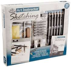 Royal Brush Art Instructor Sketching set 20-piece for £6.72 @ Amazon (free delivery for Prime members / £10.71 delivered non Prime / free on orders over £20)