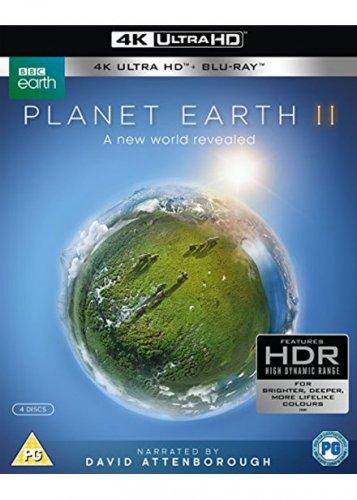 Planet Earth II (4k UHD Blu-ray + Blu-ray) £19.99 @ BASE