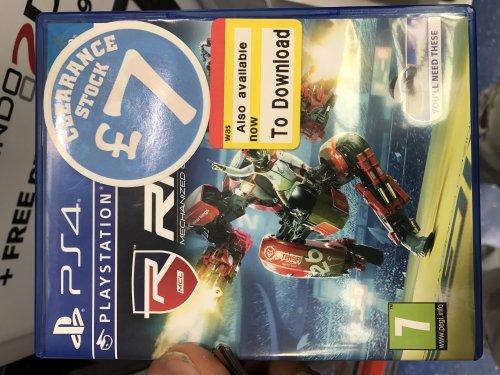 RIGS: Mechanized Combat League (PS4) £7.00 @ Smyths Instore
