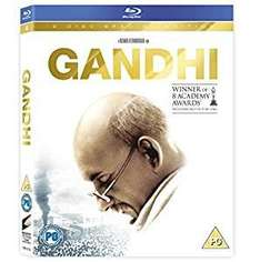 Gandhi blu-ray £4.99 at Amazon (Prime or add £1.99)