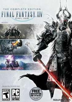Final Fantasy XIV Complete Edition PC £18.99 or £18.04 with 5% discount code CDKeys