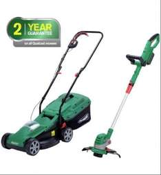Qualcast Cordless Lawnmower And Grass Trimmer - 24V £149 - Argos