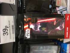 iPhone 5/6 cases 39p instore at Home Bargains