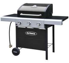 Outback 3 Burner Gas BBQ with cover less than  half price - £129.99 plus postage £6.95 @ Argos