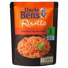 Tesco - Uncle Bens Express Risotto Italian Herb - £1.14