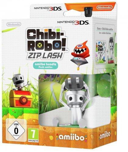 3DS Chibi-Robo! Zip Lash game and Amiibo bundle Argos/Ebay £8.99