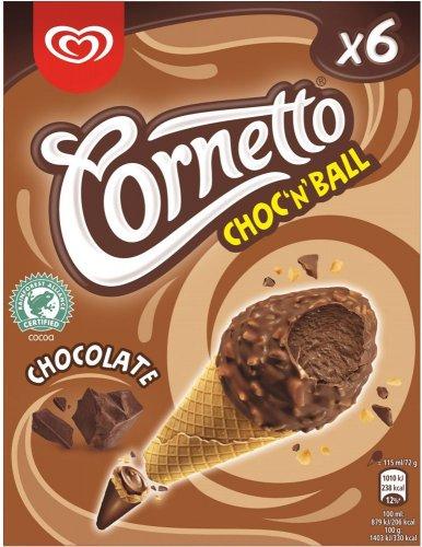 Cornetto Mini Choc'n'Ball Chocolate Cones / Strawberry / Vanilla (690g) was £3.00 now £2.00 (Rollback Deal) @ Asda
