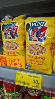 superheroes rtc 30p dried pasta instore at Asda for 30p