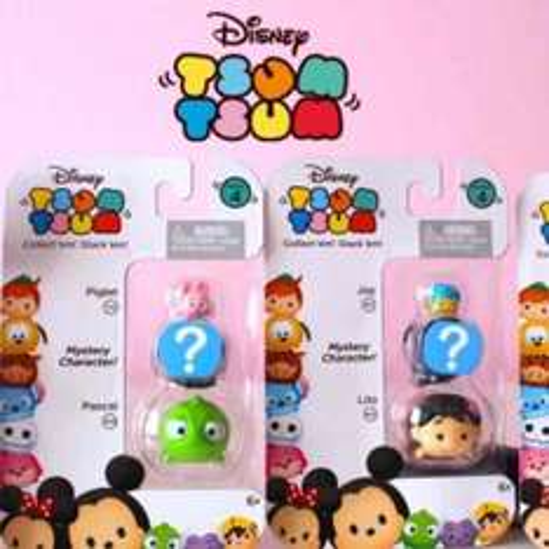 Disney Tsum Tsum series 4 pack of 3 £1 @ Tesco