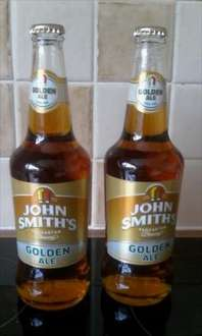 john smiths Golden Ale 500ml  B&M - 70p