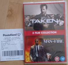Man on Fire / Taken DVD set for £1 from Poundland (in store)