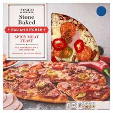 Tesco Fresh Pizza - Half Price - Was £3.40 Now £1.70
