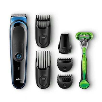 Braun Multi Grooming Kit MGK3040 (7-in-1 Beard/Hair Trimmer for Men Plus Gillette Body Razor) ENDS MIDNIGHT SATURDAY £19.99 @ Amazon