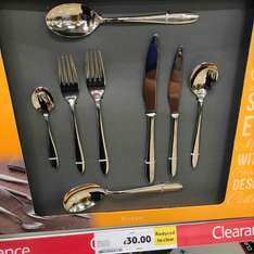 Amefa Anise 44 Piece Cutlery Set was £120 now £30 in store @ Tesco Risca Newport