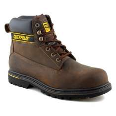 Caterpillar Holton, Men's Work and Safety Boots Brown Size 7 Amazon