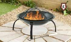 Large Folding Fire Pit - Groupon - £4.97 including delivery