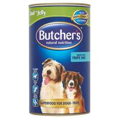 Butchers Tripe Mix Dog Food Tin 1200g for 99p in Home Bargains