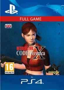 Resident evil code veronica X (PS4) download £8.49 @ GAME