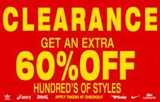60% Extra Off Clearance @ Express Trainers