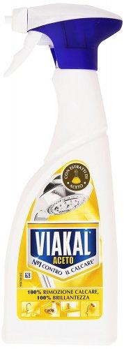 Viakal 500 ml – Descaler and Cleaner, Limescale Removal, Shine with Vinegar – 5 Pieces [2500 ml] - £5.74 (Prime / £10.49 non Prime) @ Amazon