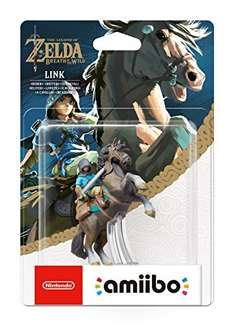 Link (Rider) amiibo - The Legend OF Zelda: Breath of the Wild Collection (Nintendo Wii U/Nintendo 3DS/Nintendo Switch) £21.99 Sold by Shop4World and Fulfilled by Amazon