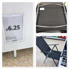 Tesco reclining Seville chair scanning at £3 instore - York