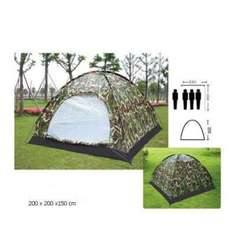 3-4 Person Outdoor Festival Camping Hiking Folding Tent Waterproof Camouflage £18.49 @ i.s_accessories - Ebay