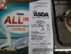 Asda Aintree, 45 All in One Dishwasher tablets
