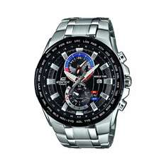 Casio Edifice EFR-550D-1AVUEF Men's Black Dial Stainless Steel Bracelet Watch £90 @ HSamuel