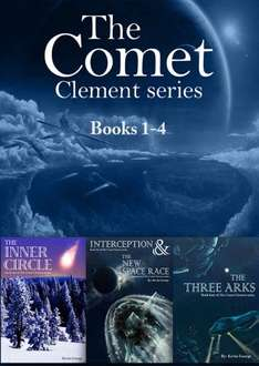 Save £4.29  -   On This Super Sci - Fi - Kevin George - The Comet Clement Series Collection: Books 1- 4 Kindle Edition  - Free Download @ Amazon