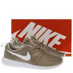 Nike Roshe One Khaki/Beige Trainers UK 7-10 Sizes Available, £39.99 @ Schuh