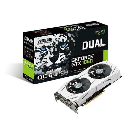 Asus GeForce GTX 1060 6GB DUAL OC Edition Graphics Card AWD-IT £280