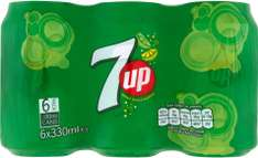 7UP Lemon, Lime & Bubbles / Tango Orange (6 x 330ml) was £1.75 now 2 packs for £3.00 (So 25p a Can) @ Iceland