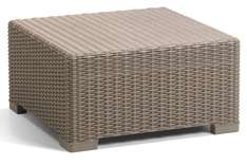 Allibert by Keter California Rattan Outdoor Coffee Table Garden Furniture - Cappuccino - £29.99 @ Amazon discount deal