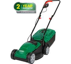 Qualcast Corded Rotary Lawnmower – 1200W – Argos £39.99 – 2yr Guarantee discount offer