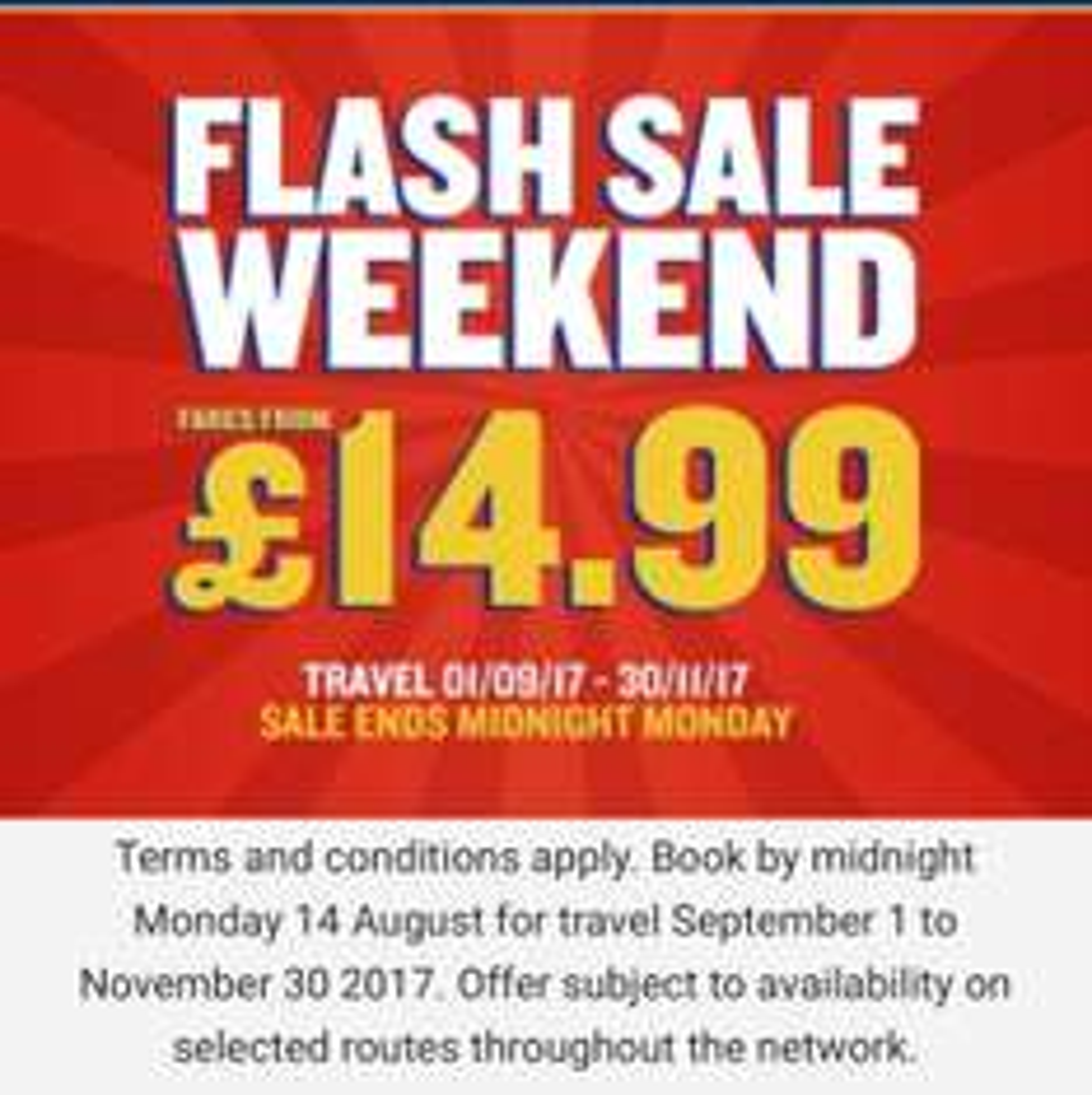 Cheap Ryanair Flights (some under £14.99) in Weekend Flash Sale
