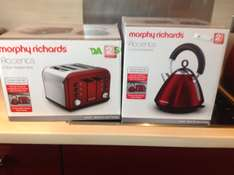 Murphy Richards Accents Kettle and 4 Slice Toaster £14.59 EACH @ Asda (Birchwood)