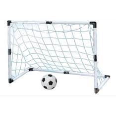OUTDOOR SOCCER GOAL SET £4 @ B&Q Click&Collect only