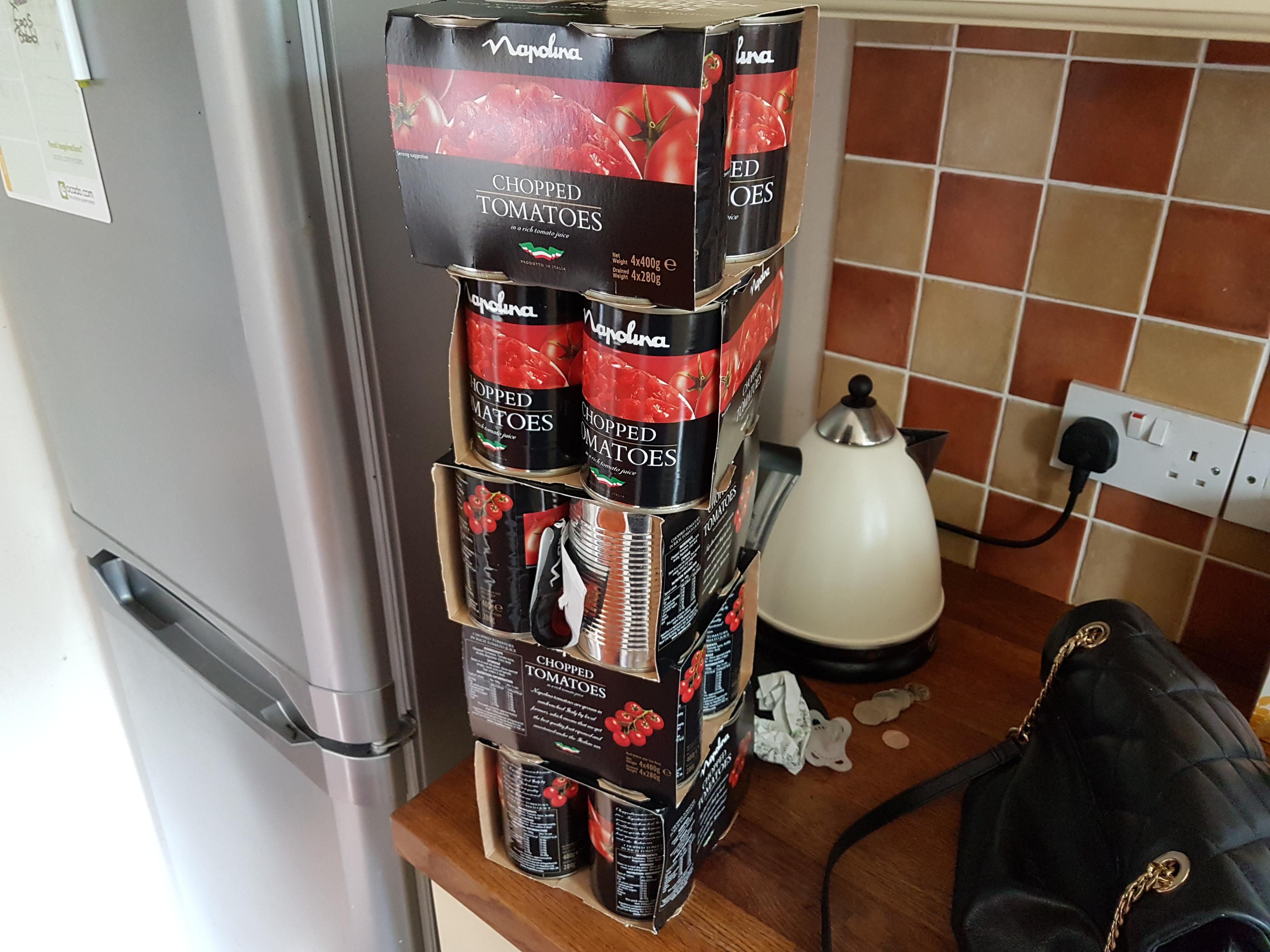 Napolina tinned tomatoes £1 at asda 4 pack