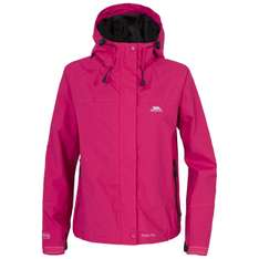 MIYAKE WOMENS WATERPROOF JACKET (only sangria colour) - £13.99 (£17.94 delivered) @ Trespass