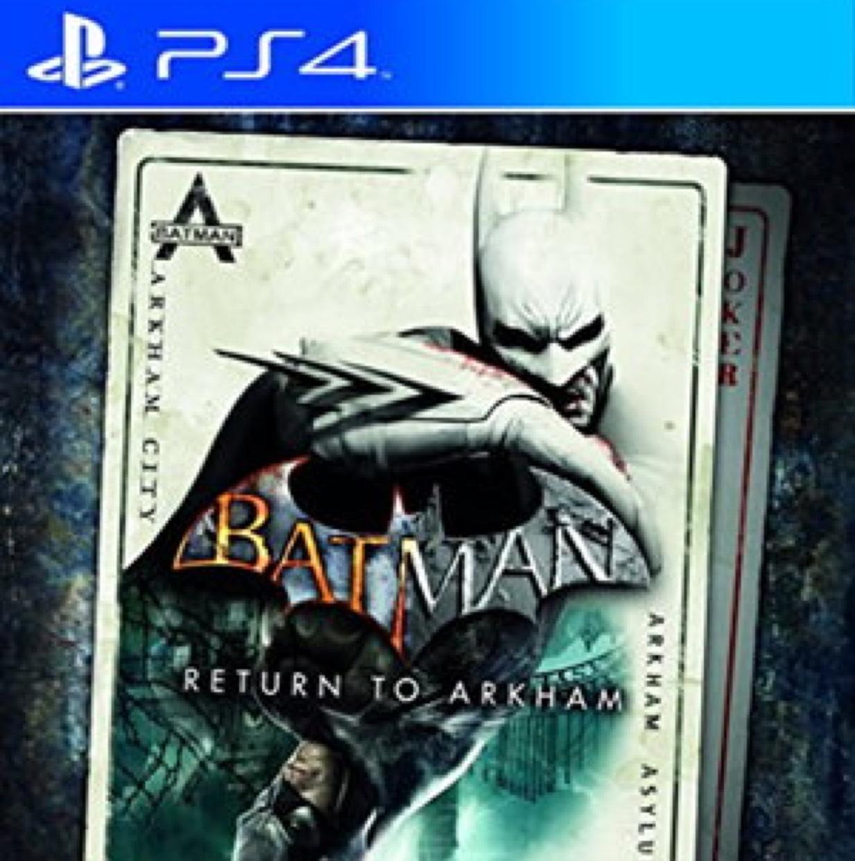 Batman: Return to arkham (PS4) £13.85 @ Base