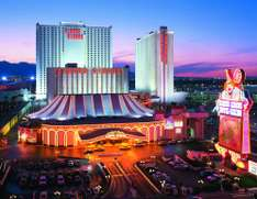 Las Vegas, USA - Trip for 1/2 People for 3 Nights Hotel Stay on the Strip with LGW Flights, Circus Circus Hotel & Return Transfers