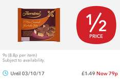 Thorntons Mini Caramel Shortcake (9) was £1.49 now 79p @ Co-op Food Stores